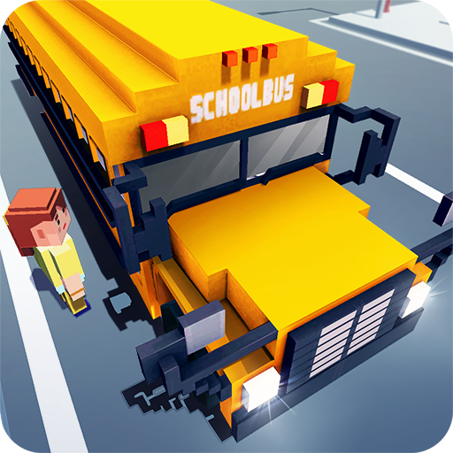 School Bus Simulator Blocky World Download Latest Version APK