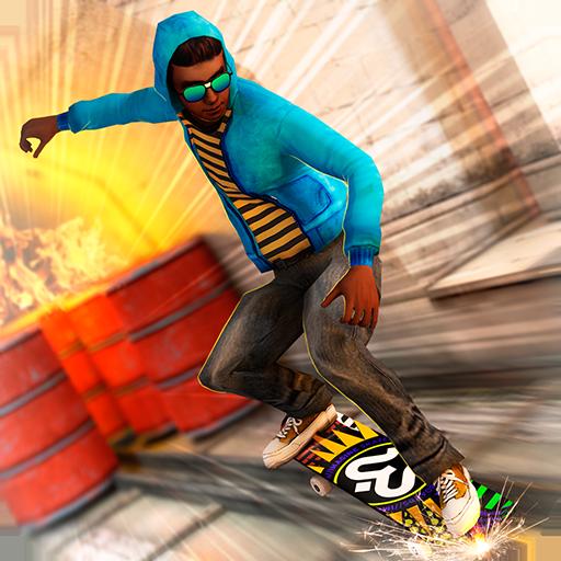 Skateboard Fire Run! Download Latest Version APK