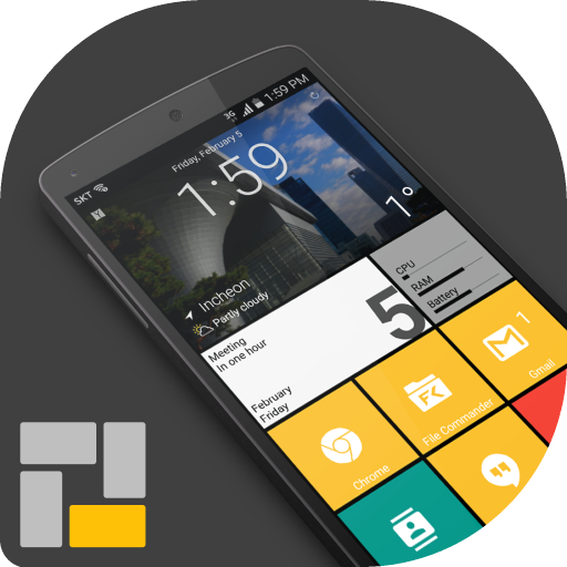 Square Home 3 – Launcher Windows style Download Latest Version APK