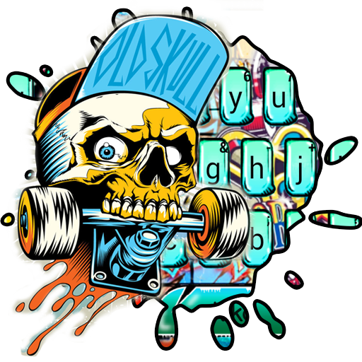 Street Skate Graffiti Keyboard Theme Download Latest Version APK