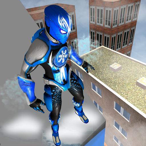 Superhero Frost Man City Rescue Snowstorm Game Download Latest Version APK