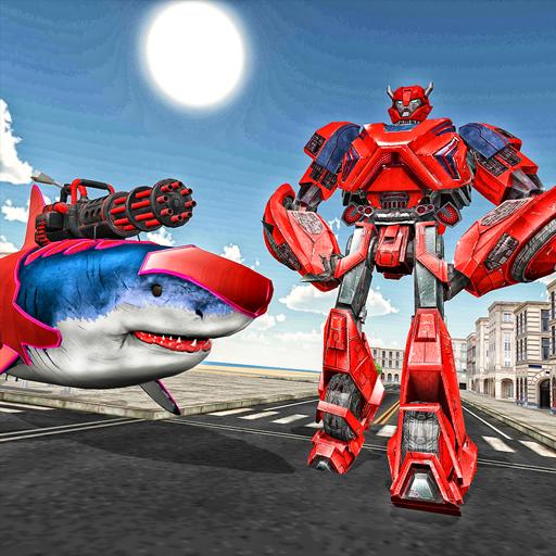 Swat Robot Shark Evolution Wars – Shark Tank Games Download Latest Version APK