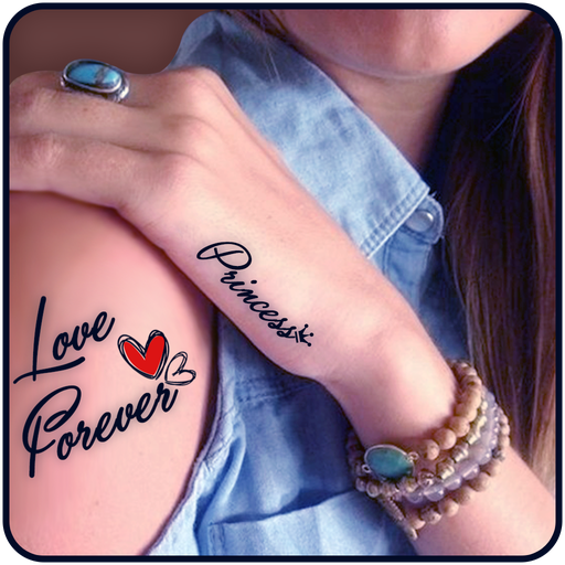 Tattoo My Photo with My Name for Boys Girls Download Latest Version APK