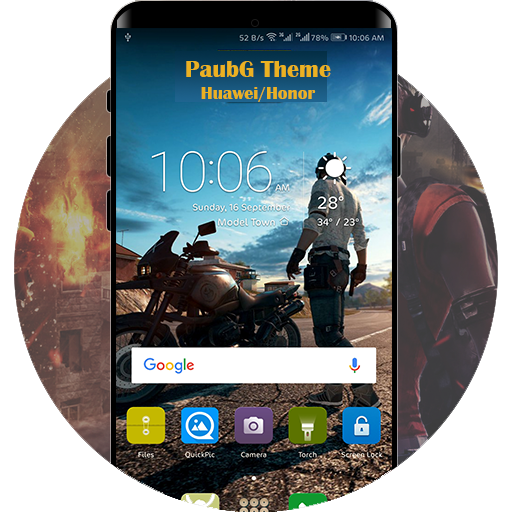 Theme PUBG for HuaweiHonor Download Latest Version APK