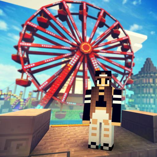 Theme Park Craft 2 Build Ride Roller Coaster Download Latest Version APK