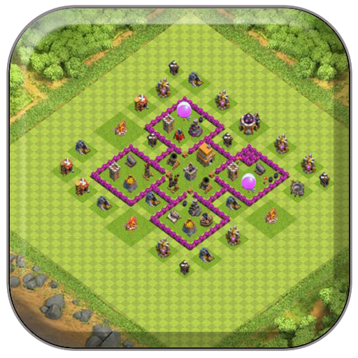 Town Hall 6 Farming Base COC Download Latest Version APK