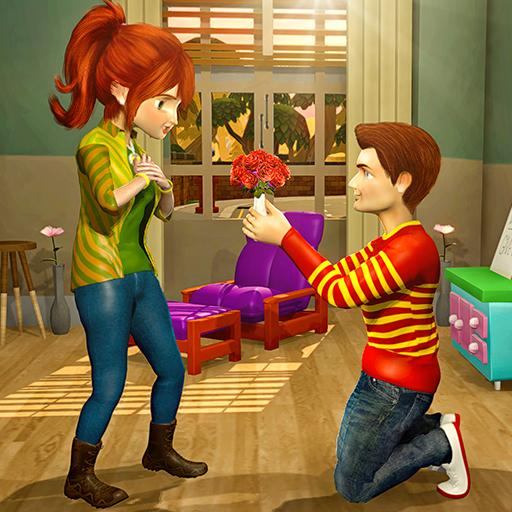 Virtual Neighbor Happy Family Love Story Games Download Latest Version APK