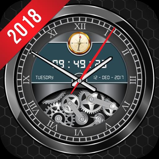 Luxury Watch Analog Clock Live Wallpaper Free 2018 Download Latest Version APK