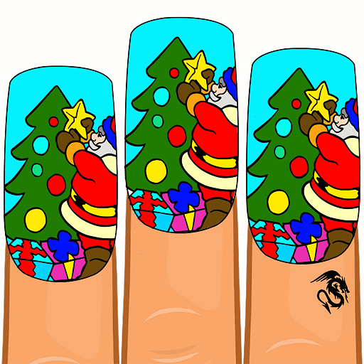 Christmas Nails Color by Number – Girls Coloring Download Latest Version APK