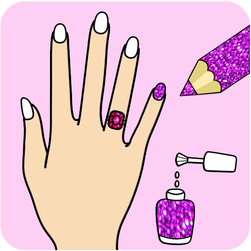 Fashion Nail Coloring Pages For Girls Download Latest Version APK