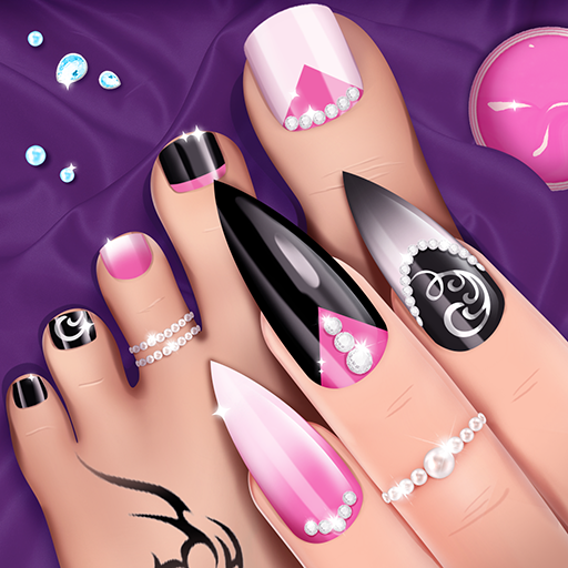 Fashion Nail Salon Game Manicure and Pedicure App Download Latest Version APK