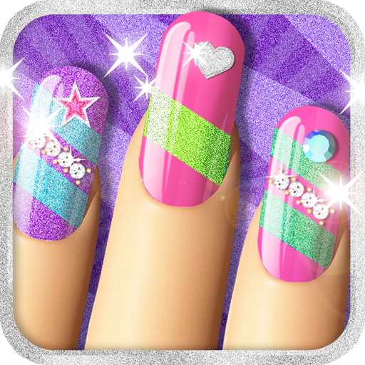Glitter Nail Salon: Girls Game by Dress Up Star Download Latest Version APK