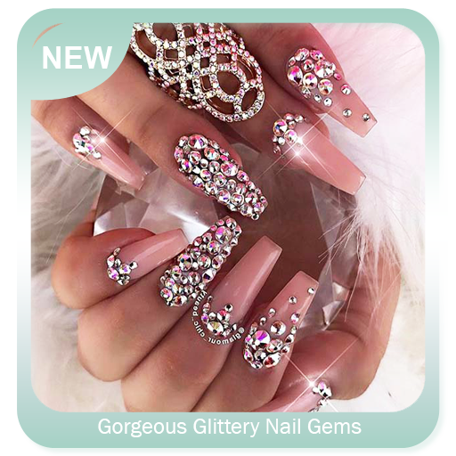 Gorgeous Glittery Nail Gems Download Latest Version APK