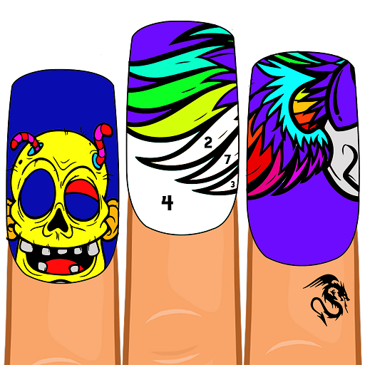 Halloween Nails Color by Number – Fashion Coloring Download Latest Version APK