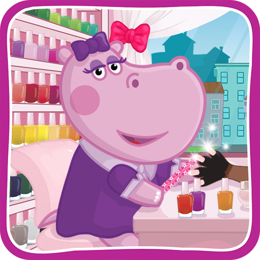 Hippo's Nail Salon: Manicure for girls Download Latest Version APK