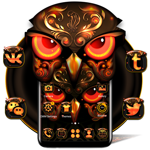 Angry Owl Launcher Theme Download Latest Version APK