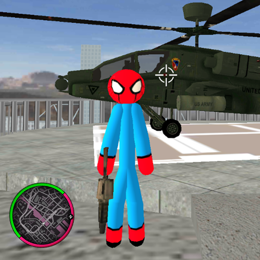 Flying-Spider StickMan Rope Hero Strange Gangster Download Latest Version APK