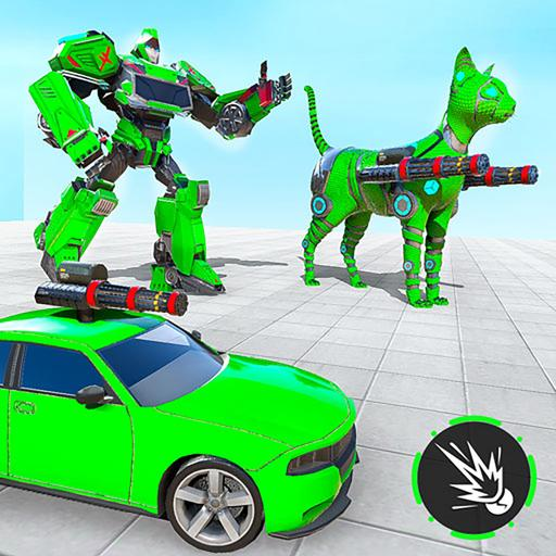 Cat Robot Car Transformation War Robot Games Download Latest Version APK