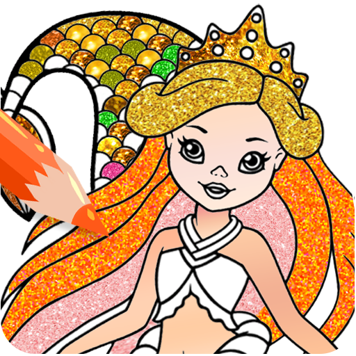 Mermaid Coloring Pages Glitter Download Latest Version APK
