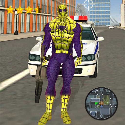 Spider Rope Hero Frog Strange Ninja Gangster Crime Download Latest Version APK