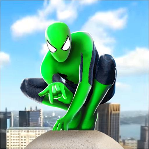 Spider Rope Hero Ninja Gangster Crime Vegas City Download Latest Version APK