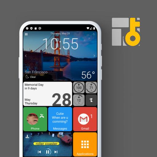Square Home Key – Launcher Windows style Download Latest Version APK