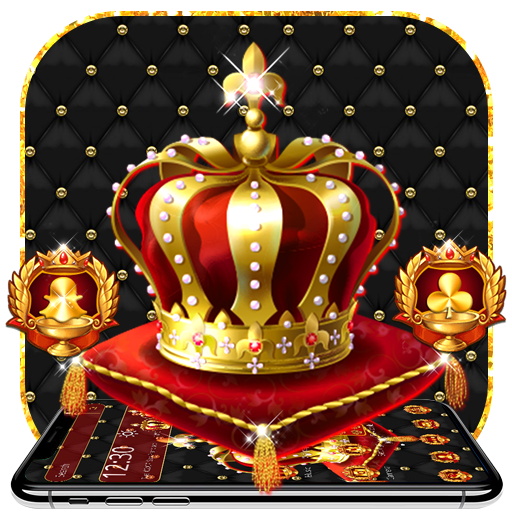 Golden Crown King Launcher Theme Download Latest Version APK