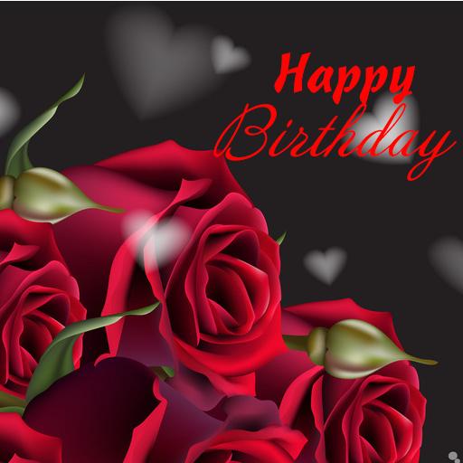 Happy Birthday GIFs & Love Roses Sticker Download Latest Version APK