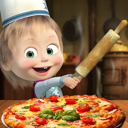 Masha and the Bear Pizzeria Game! Pizza Maker Game Download Latest Version APK