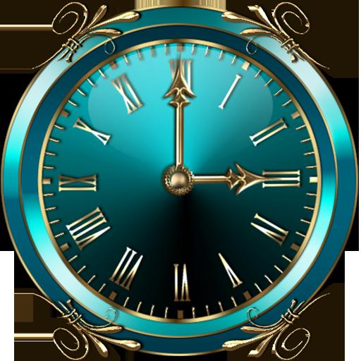Turquoise Clock Widget Download Latest Version APK