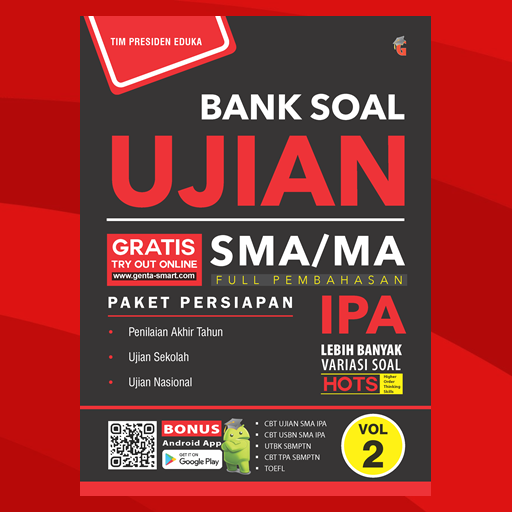 e-Book Bank Soal Ujian SMA IPA Vol. 2 Download Latest Version APK